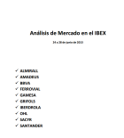 IBEX-35 DEL 24 AL 28 DE JUNIO