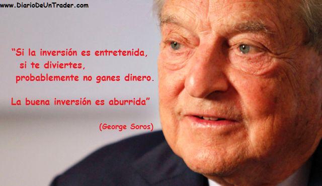 FRASES GEORGE SOROS